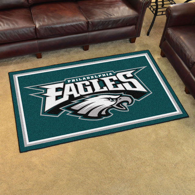 nfl football cave rug in x philadelphia archives kingdom man flooring eagles area starter rugs and