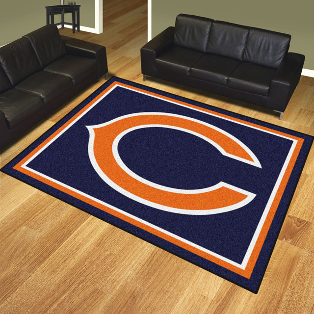 Chicago Bears Area Rug Nfl Team Logo Rug