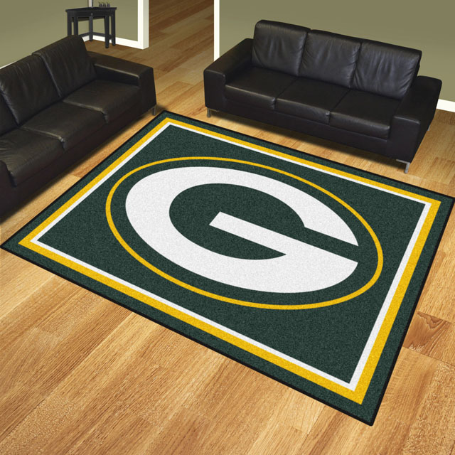 Green Bay Packers Area Rugs Nfl Logo Mats