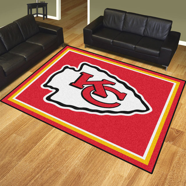 Kansas City Chiefs Area Rugs Nfl Logo Mats