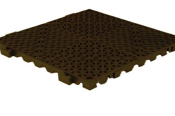 Interlocking Drainage Tiles Recycled Rubber Tiles