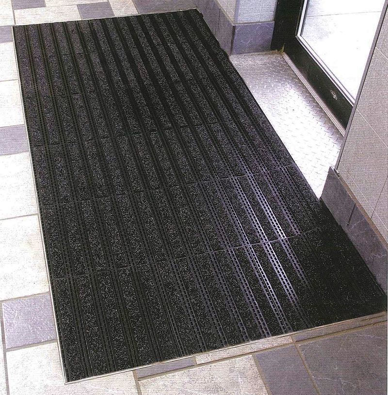 Interlocking Outdoor Tiles Drainage Floor Mat