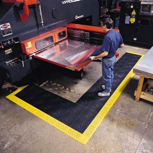 522 Cushion Lok Interlocking Safety Mat With Gritstep