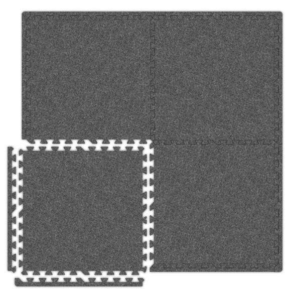 economy soft foam carpet tiles trade show mats. Black Bedroom Furniture Sets. Home Design Ideas