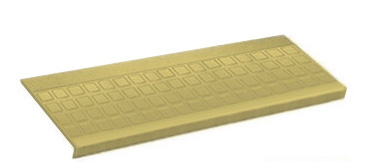 Raised Roppe Rubber Stair Treads No Slip Stair Treads