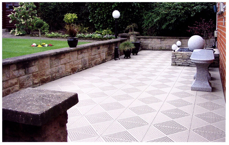 Plastic Patio Tiles Outdoor Tile For Patios