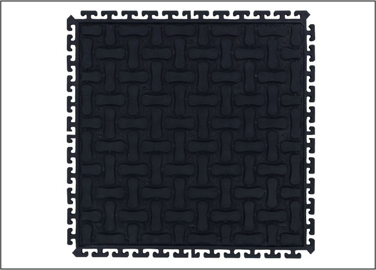 Comfort Scrape Hd Modular Mat Interlocking Rubber Anti