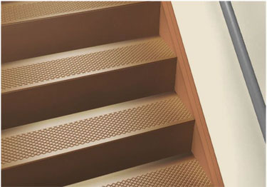 diamond rubber stair treads