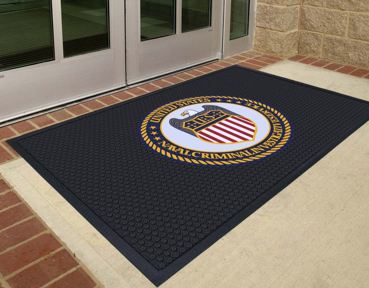 Rubber Logo Mats Commercial Custom Entrance Mats