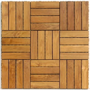 Classic Ipe Wood Deck Tiles Swiftdeck Interlocking Patio