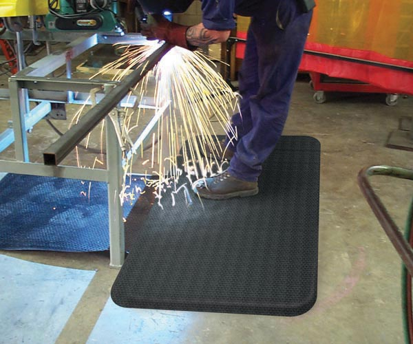 Welding Floor Mat Rubber Anti Fatigue Mat For Sale
