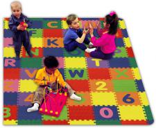 Style 1311 Play and Learn Tiles A-Z and 0-9