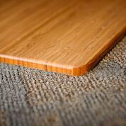 Bamboo Chair Mat Corner