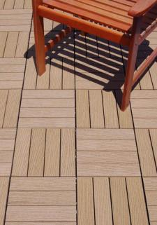 ResiDeck Composite Wood Deck Tiles