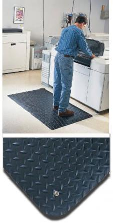 Conductive Diamond Foot Anti Static Mat by Commercial Mats and Rubber.com
