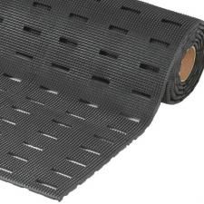 Cushion Dek Wet Area Matting Slotted Pyramid Top Rubber