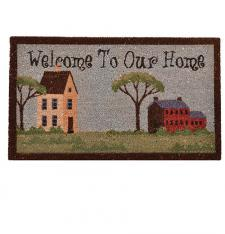 Welcome to our home door mat