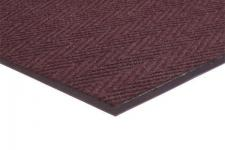 Chevron Rib Commercial Mat Color Burgundy Commercial Mats and Rubber