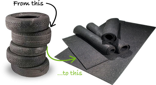 Benefits Of Recycled Rubber Flooring