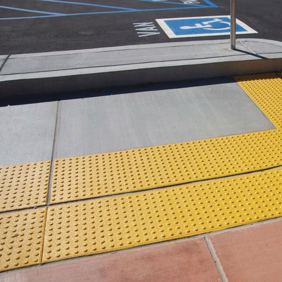 View: ADA Compliant Detectable Warning Mats