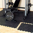 Interlocking Rubber Squares for Gyms
