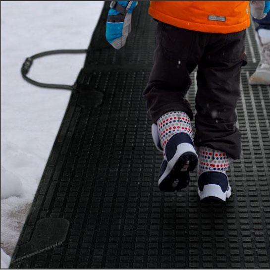 View: Heated Snow Melting Mats and Foot Warmer Mats