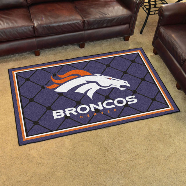denver broncos area rugs | nfl logo mats Area Rugs Denver