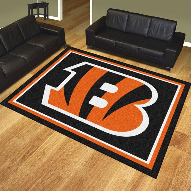 Cincinnati Bengals Area Rugs Nfl Logo Mats