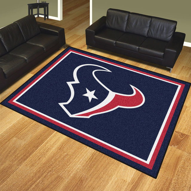Houston Texans Area Rugs Nfl Logo Mats