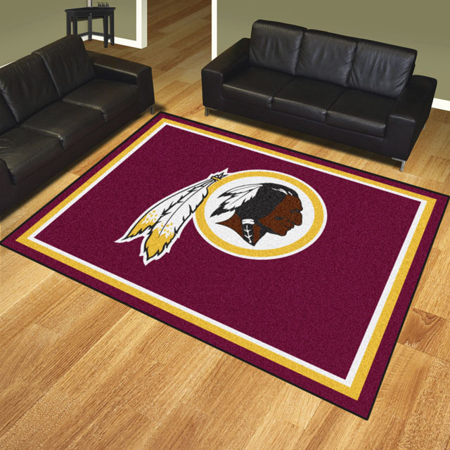 Washington Redskins Area Rugs Nfl Logo Mats