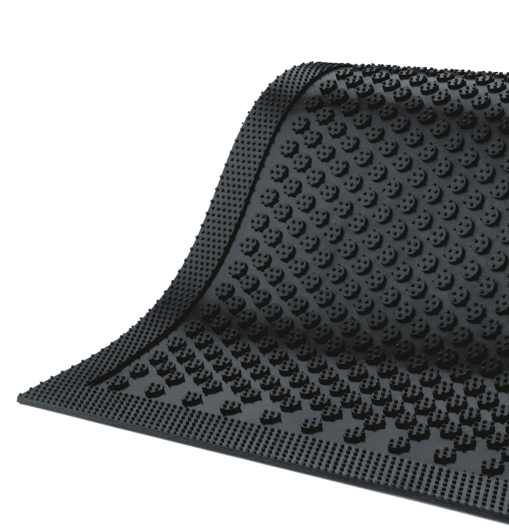 Safety Scrape Scraper Mat Black