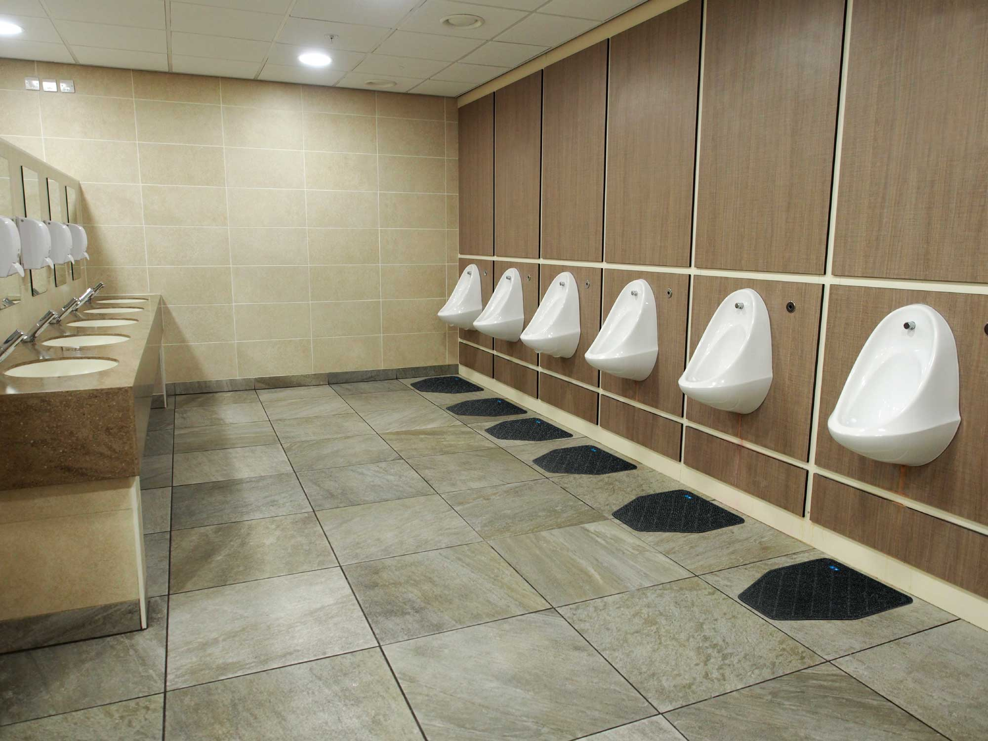 Cleanshield Urinal Mat Disposable Urinal Floor Mat