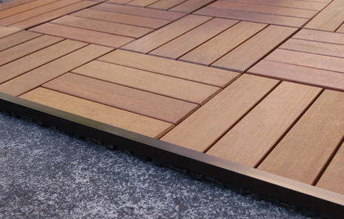 Ipe Wood Deck Tiles Wooden Decking Patio Tile