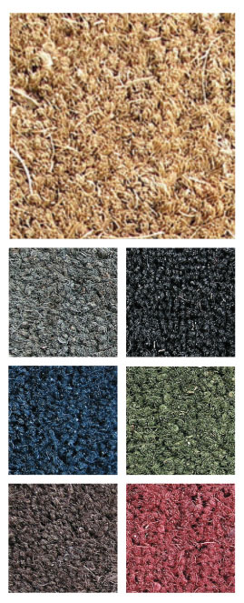 Coco Inlay Mat Color Chart