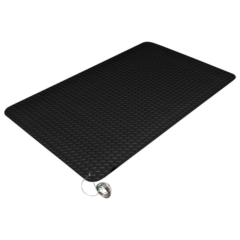Military Deck Plate Switchboard Runner by Commercial Mats and Rubber.com