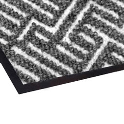 Triathlon Mat with Anti-Microbial Backing in Cool Gray