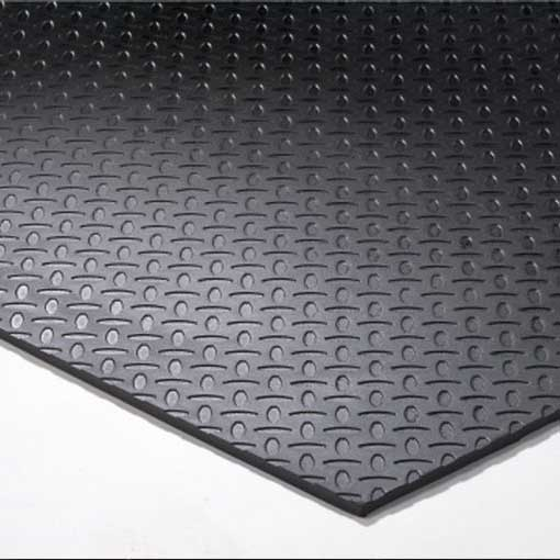 Mitchell Rubber Diamond Mega Plate Mat