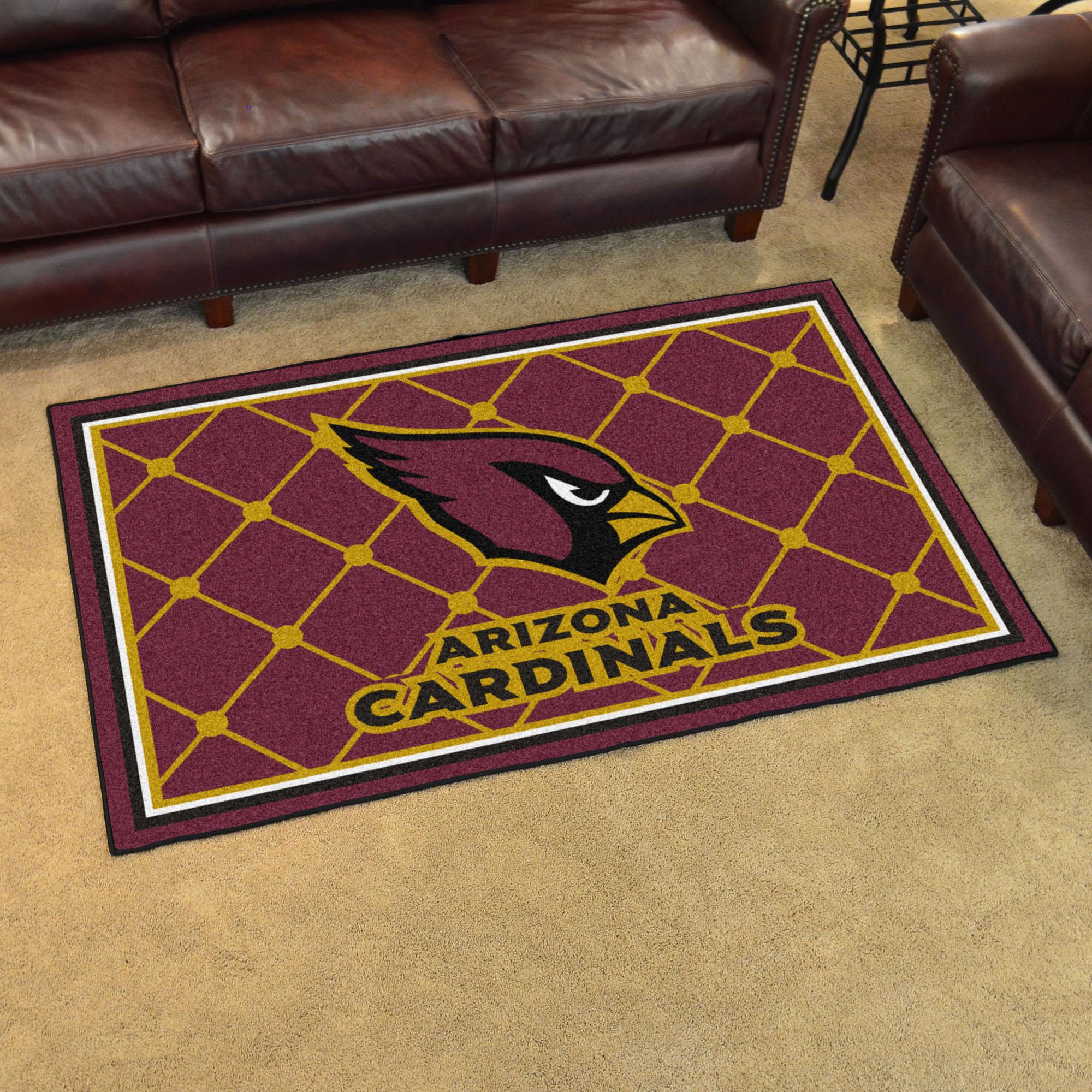 Arizona Cardinals Area Rug Arizona Cardinals Nfl Logo Rug