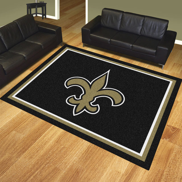 New Orleans Saints Area Rugs