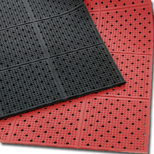 Industrial Rolled Rubber Kitchen Matting