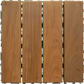 Colorado Ipe Wood Deck Tiles