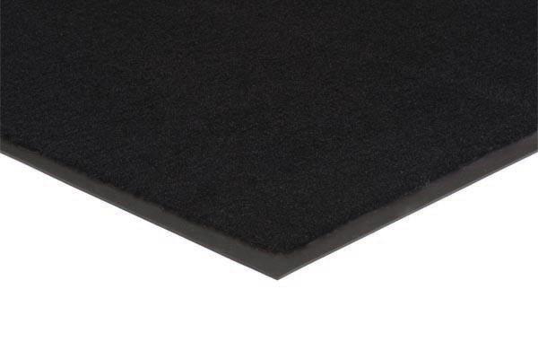 Plush Tuff Mat Solid Colors Color: Black Commercial Mats and Rubber