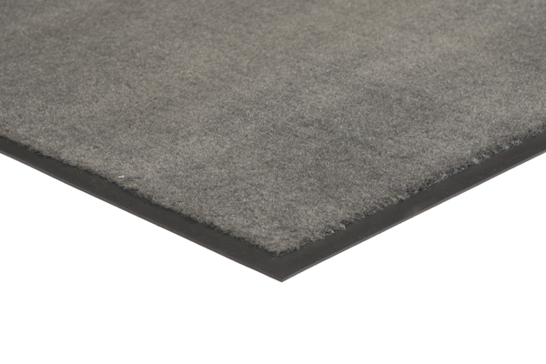 Plush Tuff Mat Solid Color Gray Commercial Mats and Rubber