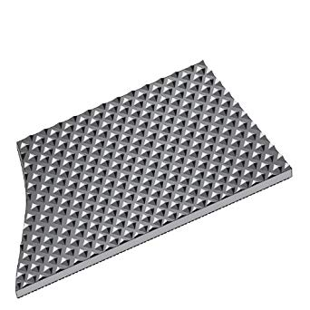 Rhino Pyramid Top Vinyl Runner Mat