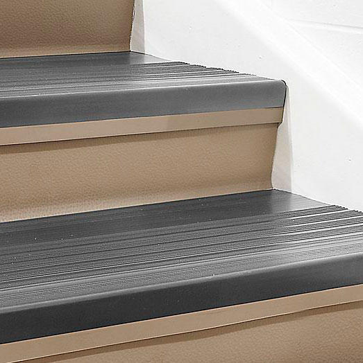 Roppe Heavy Duty Ribbed Vinyl Stair Tread