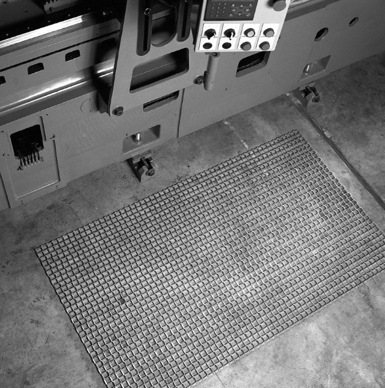 Durable Corp Steel Grid Mat for Recessed Areas