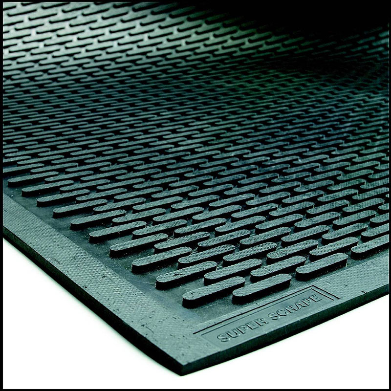 Super Scrape Door Mat | Outdoor Non Slip Rubber Matting