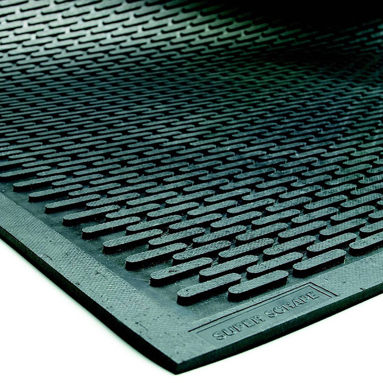 Super Scrape Outdoor Rubber Mat