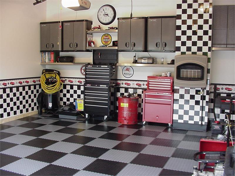 Lock Tile Interlocking Vinyl Tiles Garage Flooring