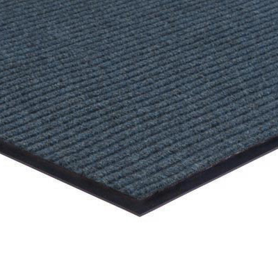 Apache Ribbed Entrance Mat in Blue